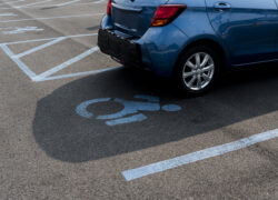 multa aparcar plaza discapacitados